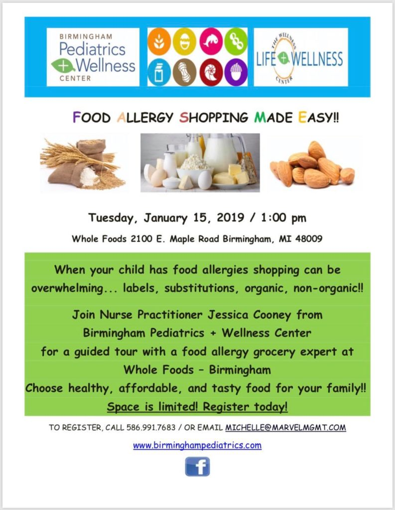Food allergy shopping made easy!